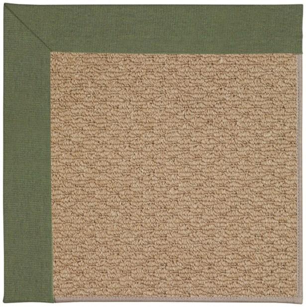 Lisle Machine Woven Green/Brown Indoor/Outdoor Area Rug Rug Size: Rectangle 4' x 6'