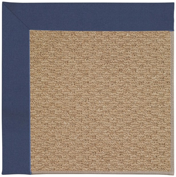 Lisle Machine Tufted Brown and Beige Indoor/Outdoor Area Rug Rug Size: Round 12' x 12'