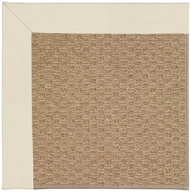 Lisle Machine Tufted Sandy/Brown Indoor/Outdoor Area Rug Rug Size: Square 8'