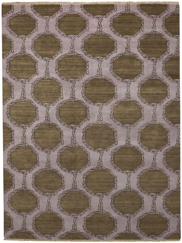 Penny Tawny Trellis Brown/Purple Area Rug Rug Size: Rectangle 4' x 6'