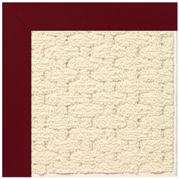 Lisle Wine Indoor/Outdoor Area Rug Rug Size: Square 6'