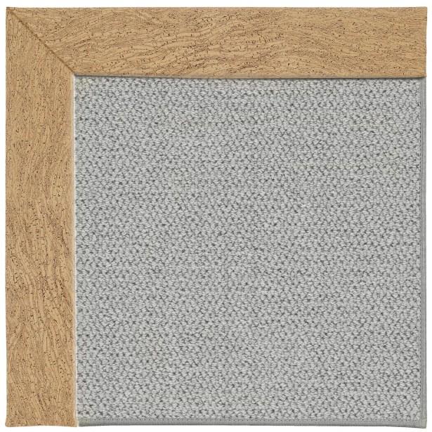 Barrett Machine Tufted Beige/Gray Area Rug Rug Size: Square 8'