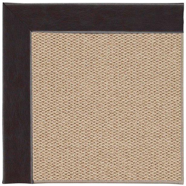 Barrett Champagne Machine Tufted Black and Beige Area Rug Rug Size: Rectangle 4' x 6'