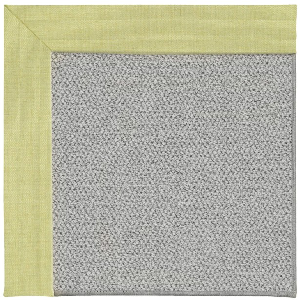 Barrett Silver Machine Tufted Light Green/Gray Area Rug Rug Size: Rectangle 12' x 15'