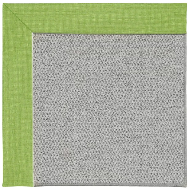 Barrett Silver Machine Tufted Green Grass/Gray Area Rug Rug Size: Rectangle 12' x 15'