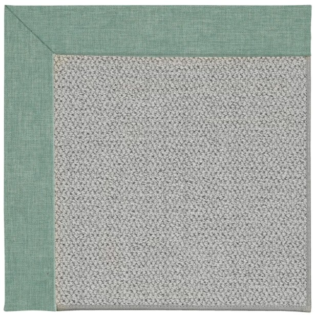 Barrett Machine Tufted Reef/Gray Area Rug Rug Size: Rectangle 7' x 9'