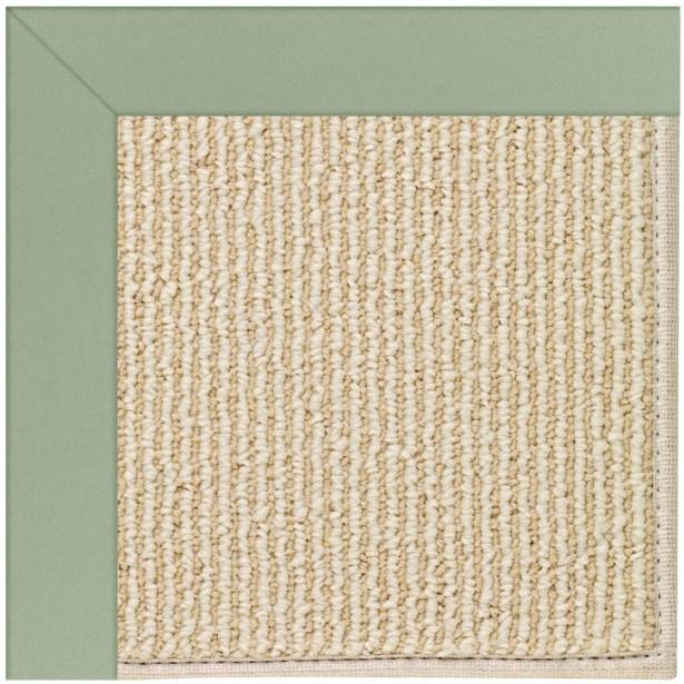 Lisle Machine Tufted Light Jade/Beige Indoor/Outdoor Area Rug Rug Size: Square 10'