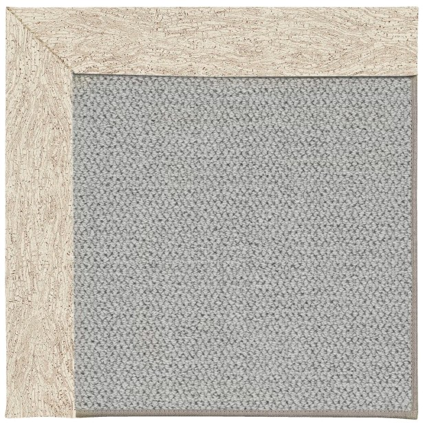 Barrett Silver Machine Tufted Natural Area Rug Rug Size: Rectangle 3' x 5'