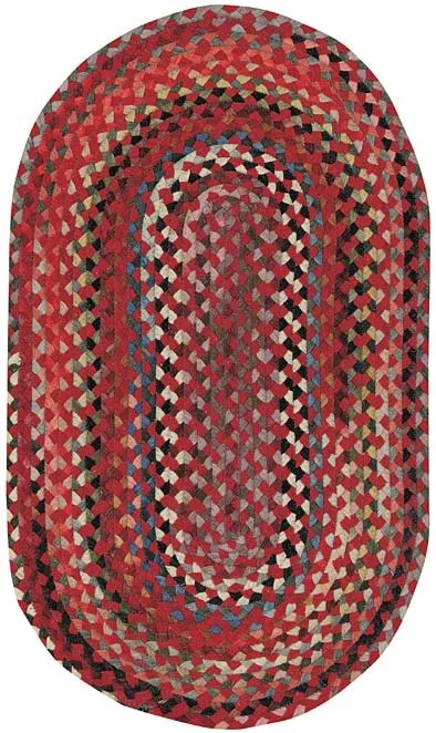St. Johnsbury Red Area Rug Rug Size: Rectangle 11'4