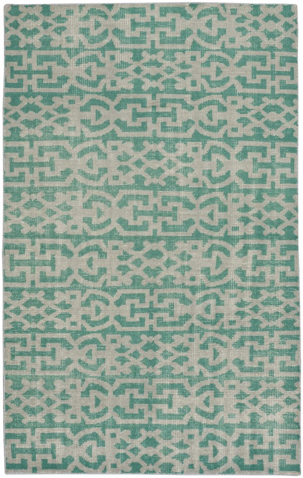 Classic Hand-Knotted Grass Area Rug Rug Size: 9' x 12'