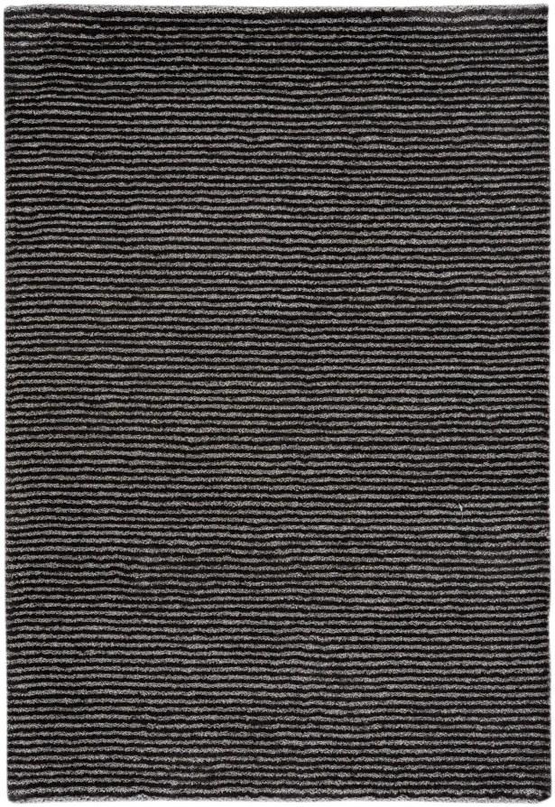 Gravitation Black Area Rug Rug Size: 5'3