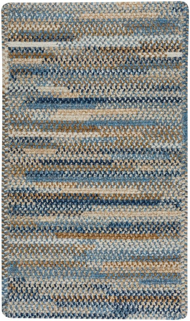 Eben Blue Area Rug Rug Size: Rectangle 3' x 5'