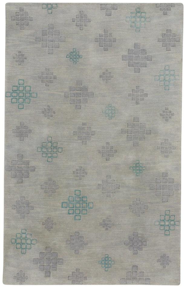 COCOCOZY Geneva Hand-Tufted Nickel Ash Area Rug Rug Size: 8' x 10'