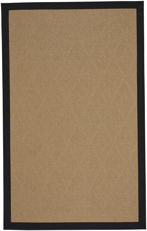 Gresham Agave Braided Ebony Tan Indoor/Outdoor Area Rug Rug Size: Rectangle 13' x 15'