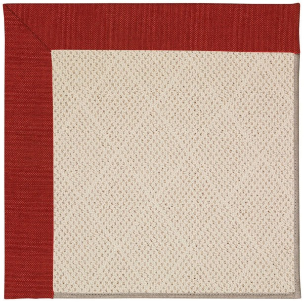Lisle Beige Indoor/Outdoor Area Rug Rug Size: Square 10'