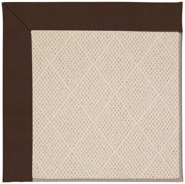 Lisle Cream Indoor/Outdoor Area Rug Rug Size: Rectangle 12' x 15'