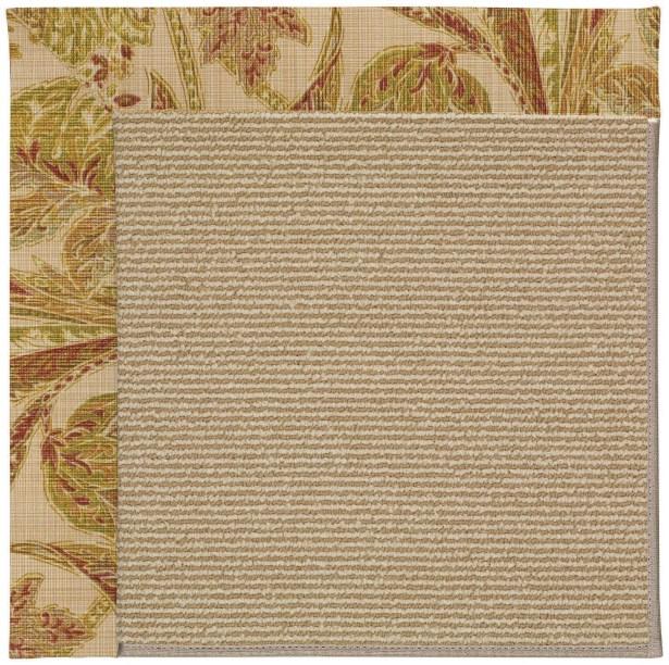 Lisle Light Brown Indoor/Outdoor Area Rug Rug Size: Rectangle 5' x 8'