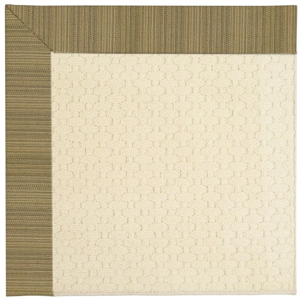 Lisle Beige Indoor/Outdoor Area Rug Rug Size: Rectangle 7' x 9'