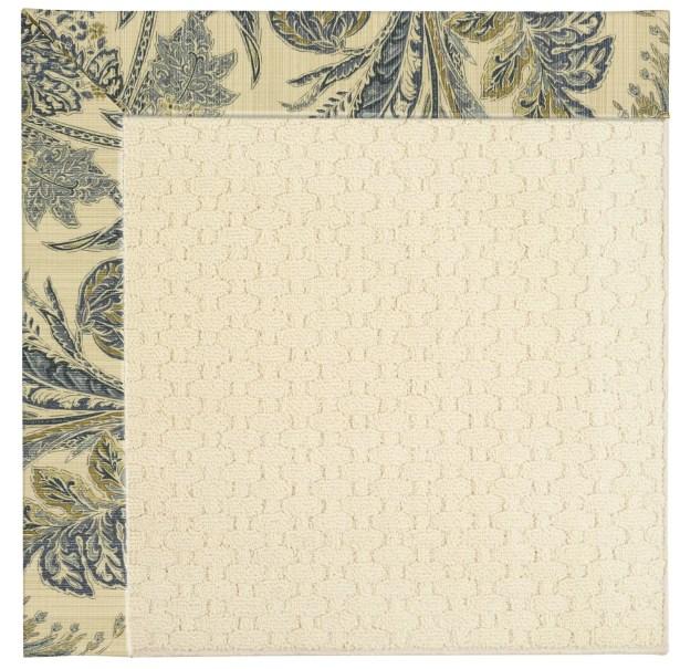 Lisle Cream Indoor/Outdoor Area Rug Rug Size: Rectangle 10' x 14'