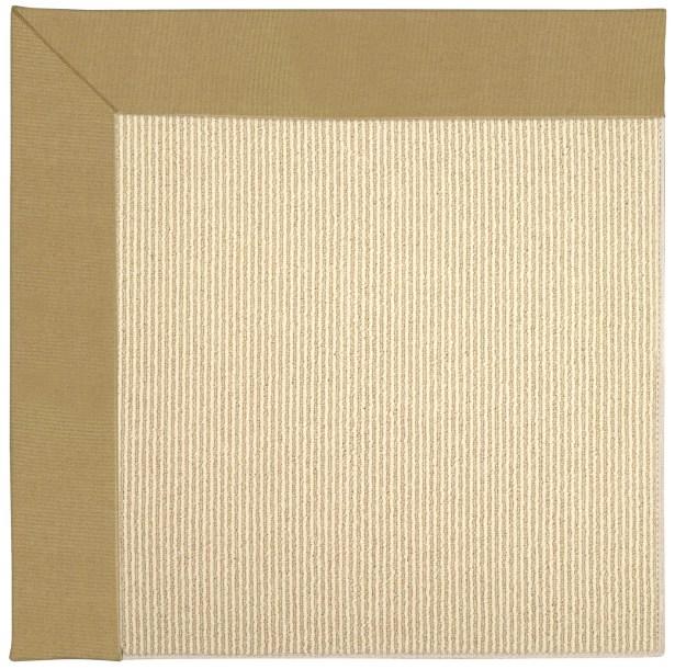 Lisle Machine Tufted Bronze/Beige Indoor/Outdoor Area Rug Rug Size: Rectangle 9' x 12'