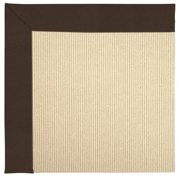 Lisle Machine Tufted Brown/Beige Indoor/Outdoor Area Rug Rug Size: Rectangle 9' x 12'