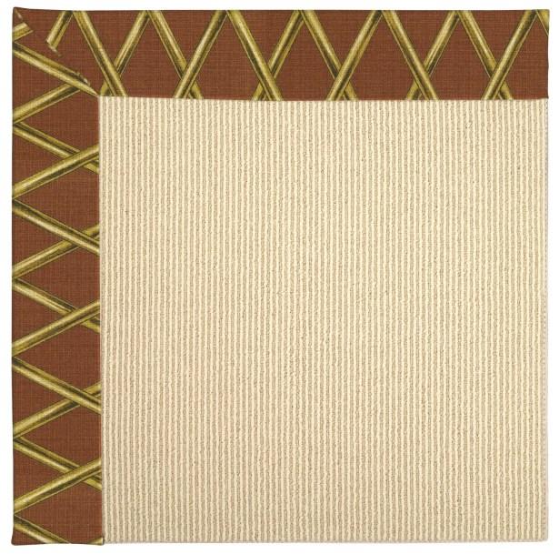 Lisle Machine Tufted Cinnabar Honey/Beige Indoor/Outdoor Area Rug Rug Size: Rectangle 9' x 12'