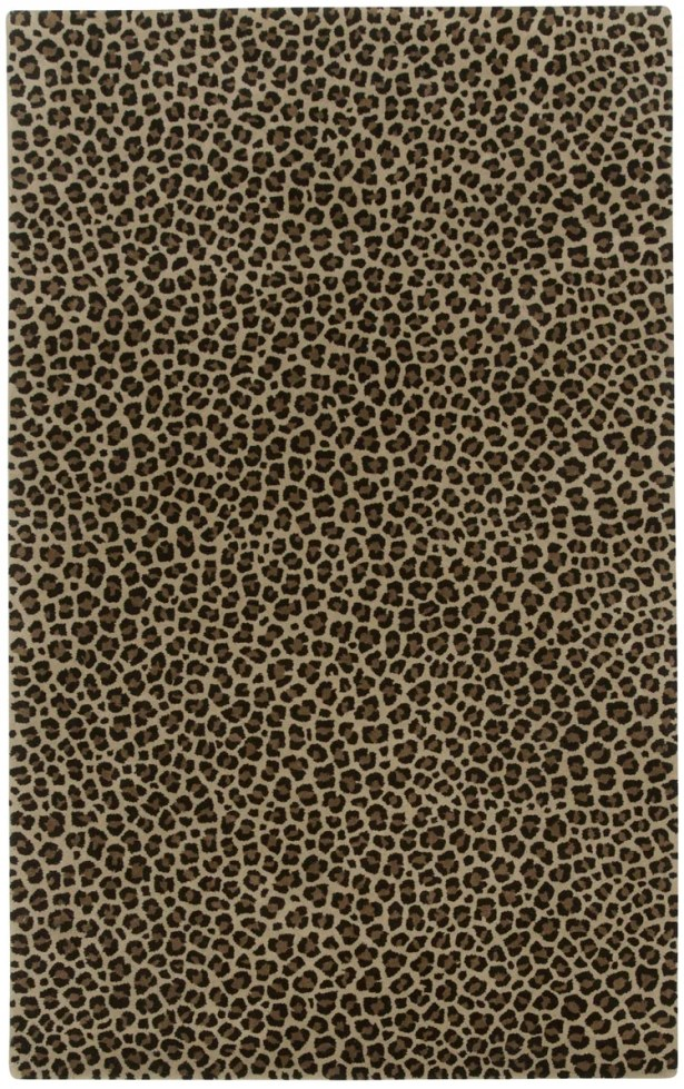 Marquetta Brown Leopard Area Rug Rug Size: Rectangle 8' x 11'