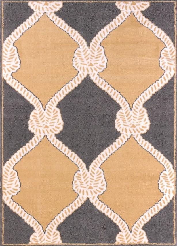 Modern Texture Cordage Harvest Area Rug Rug Size: Rectangle 7'10
