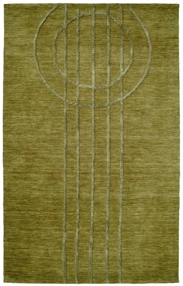 Soho Green Area Rug Rug Size: Rectangle 8' x 11'