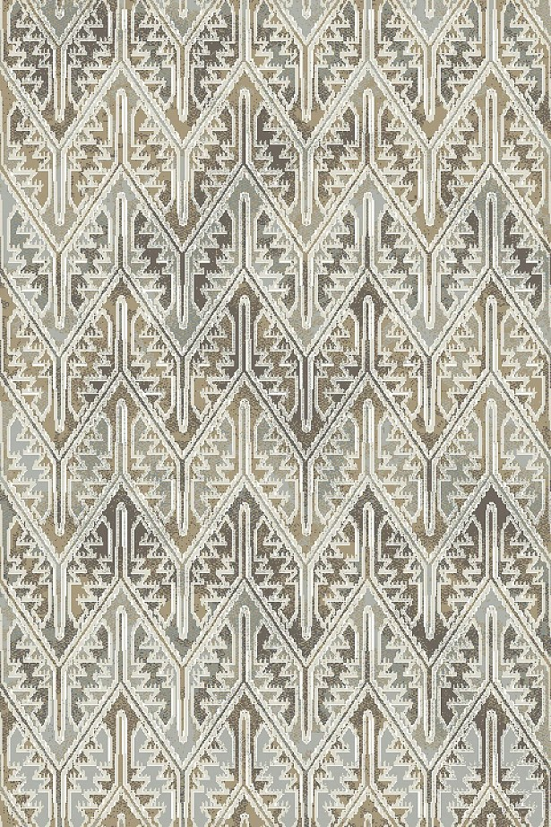 Edgao Gray/Beige Area Rug Rug Size: Rectangle 7'10