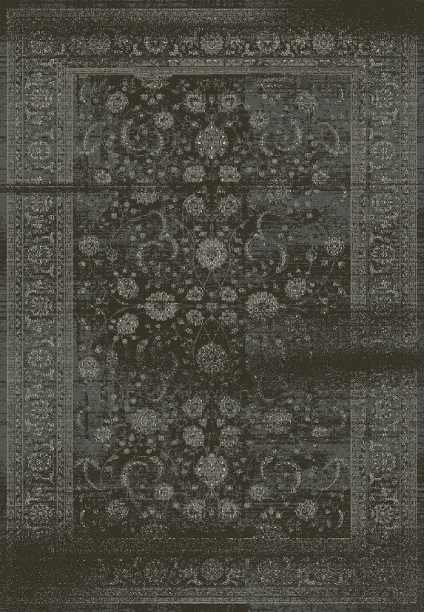 Eaman Antique Gray Area Rug Rug Size: Rectangle 7'10
