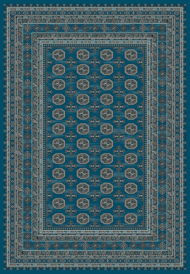 Deadra Blue Area Rug Rug Size: Rectangle 7'10