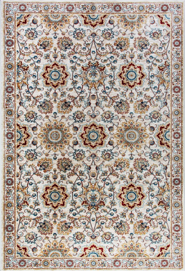 Aniyah Beige Area Rug Rug Size: Rectangle 3'6