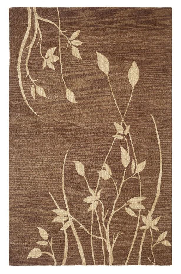 Dream Handwoven Flatweave Wool Brown Area Rug Rug Size: Rectangle 5' x 8'