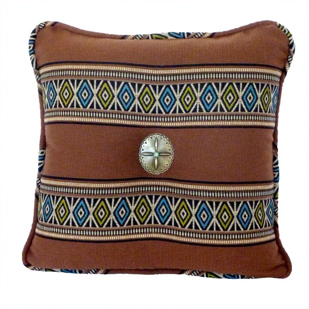 Porto Novo Throw Pillow Color: Batik