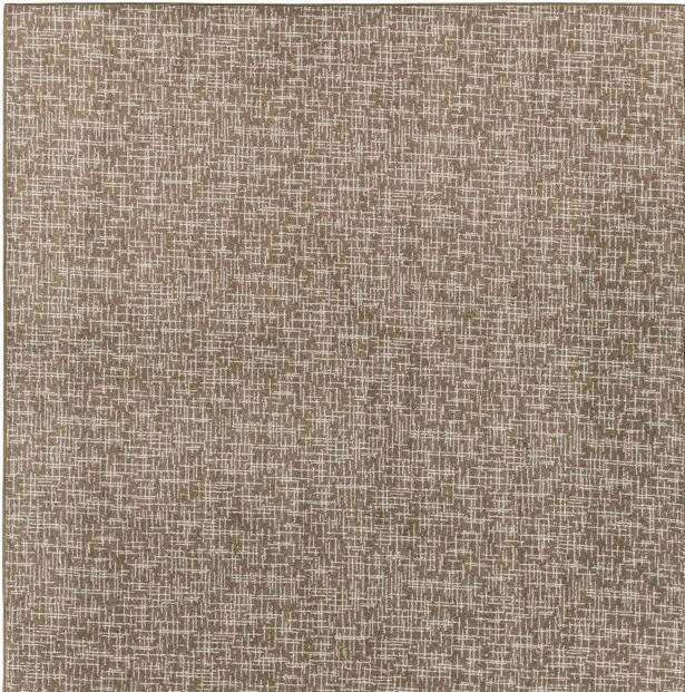 Cecilia Brown Area Rug Rug Size: Square 6'
