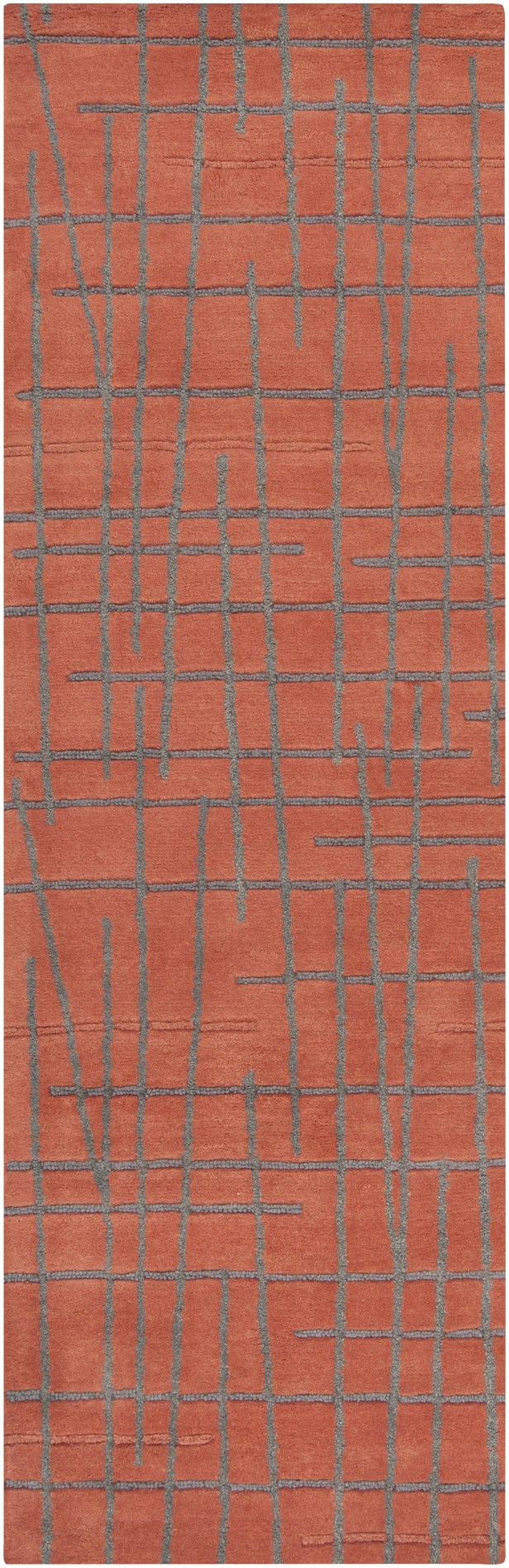 Major Red Clay Area Rug Rug Size: Runner 2'6
