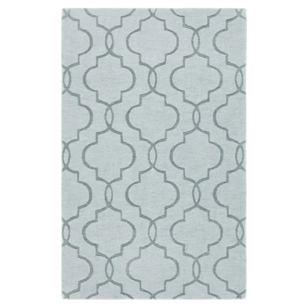 Vasques Green Area Rug Rug Size: Rectangle 8' x 11'