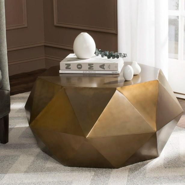 Jadyn Coffee Table Color: Light Copper