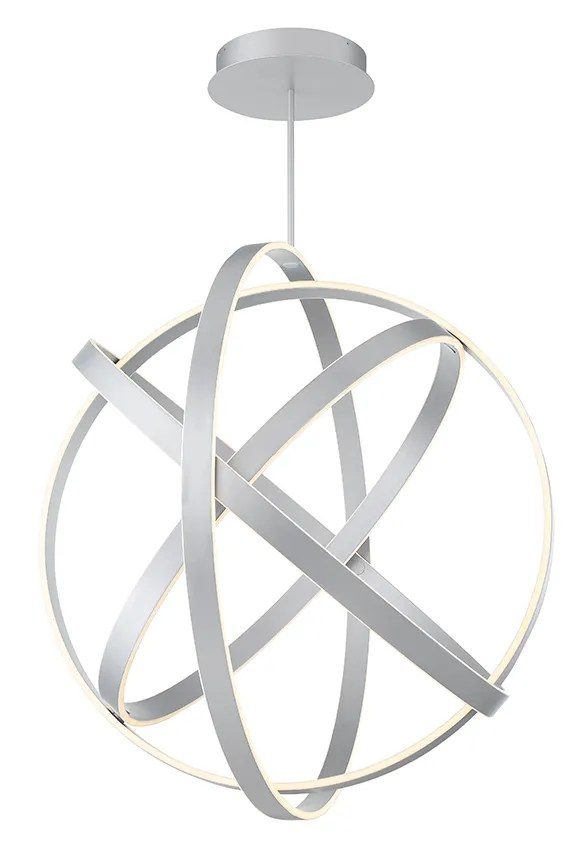 Kinetic 1-Light  LED  Pendant