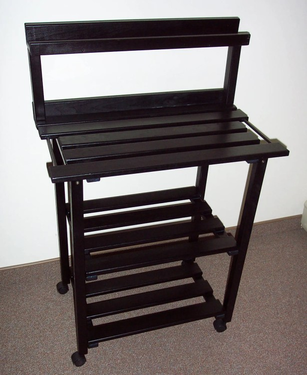 Barbecue Buddy Buffet Table Finish: Black