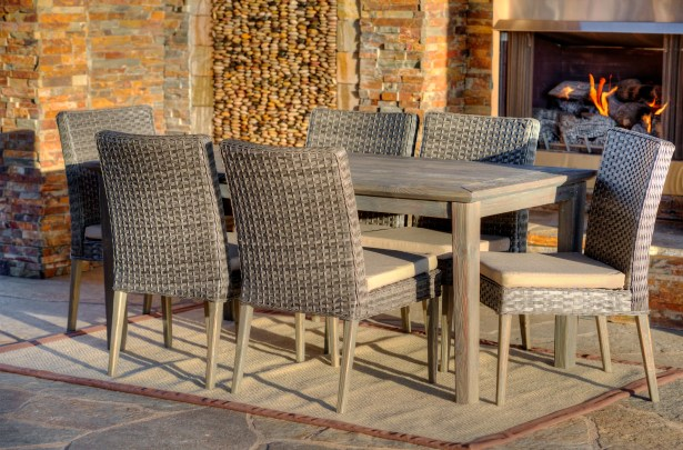 Winchester 7 Piece Dining Set with Cushions