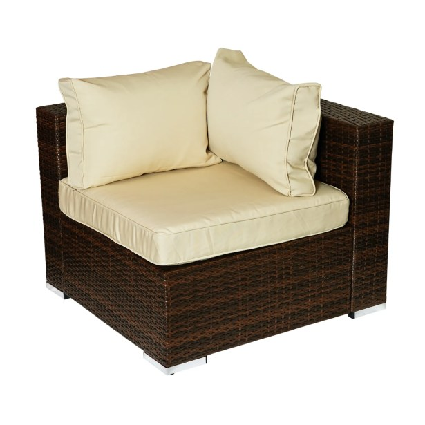 Caleigh 4 Piece Sectional Set with Cushions