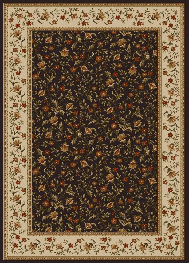 Weisgerber Brown Area Rug Rug Size: Rectangle 9'10