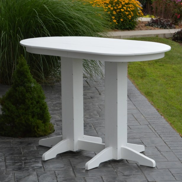 Nettie DiningTable Color: White, Table Size: 72