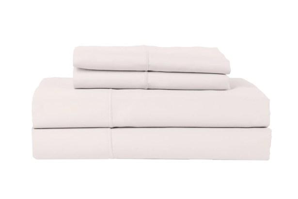 Devonshire of Nottingham 650 Thread Count Egyptian Quality Cotton Sheet Set Size: Queen, Color: Ash