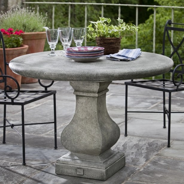 Vence Bistro Table Finish: Copper Bronze