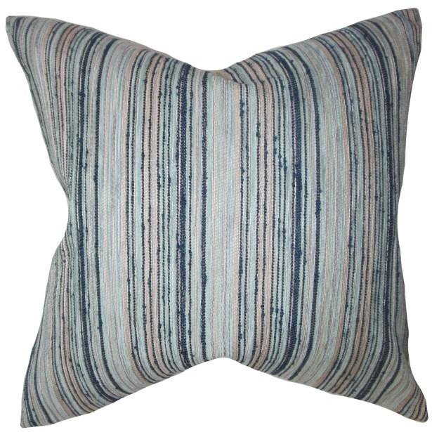 Eaves Throw Pillow Color: Orange, Size: 20