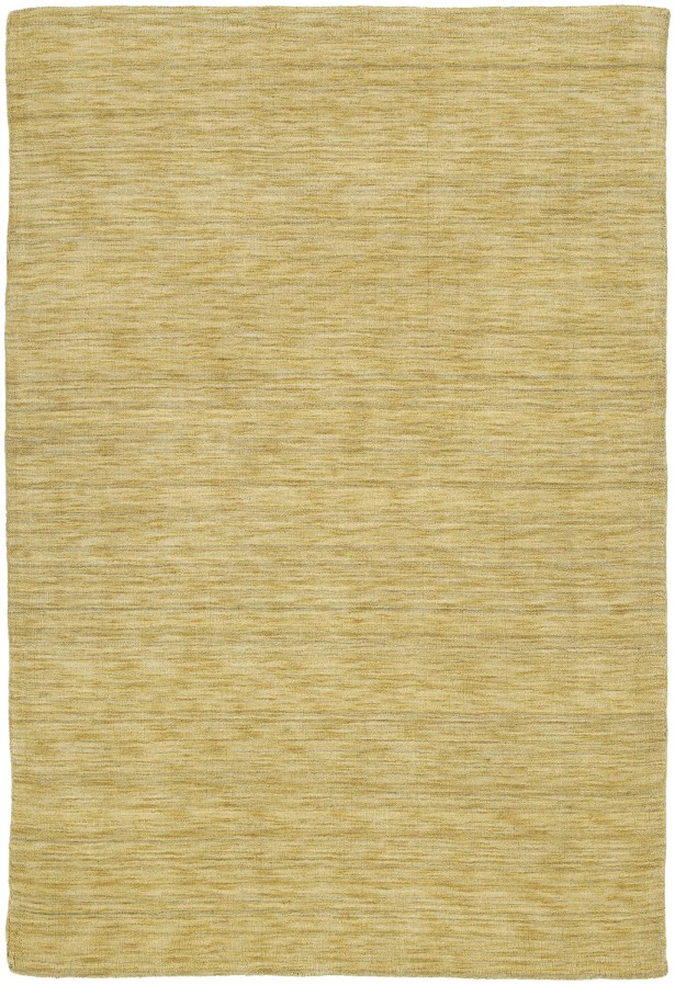 Mccabe Hand Woven Wool Yellow Area Rug Rug Size: Rectangle 5' x 7'6