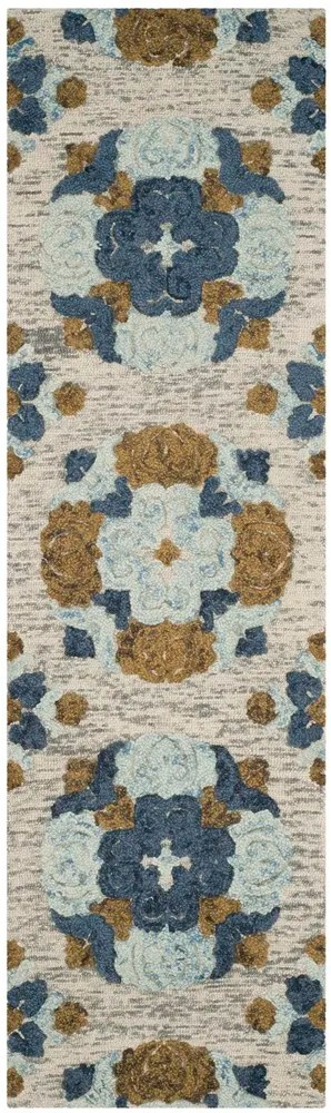Abrahamic Hand-Tufted Area Rug Rug Size: Runner 2'3